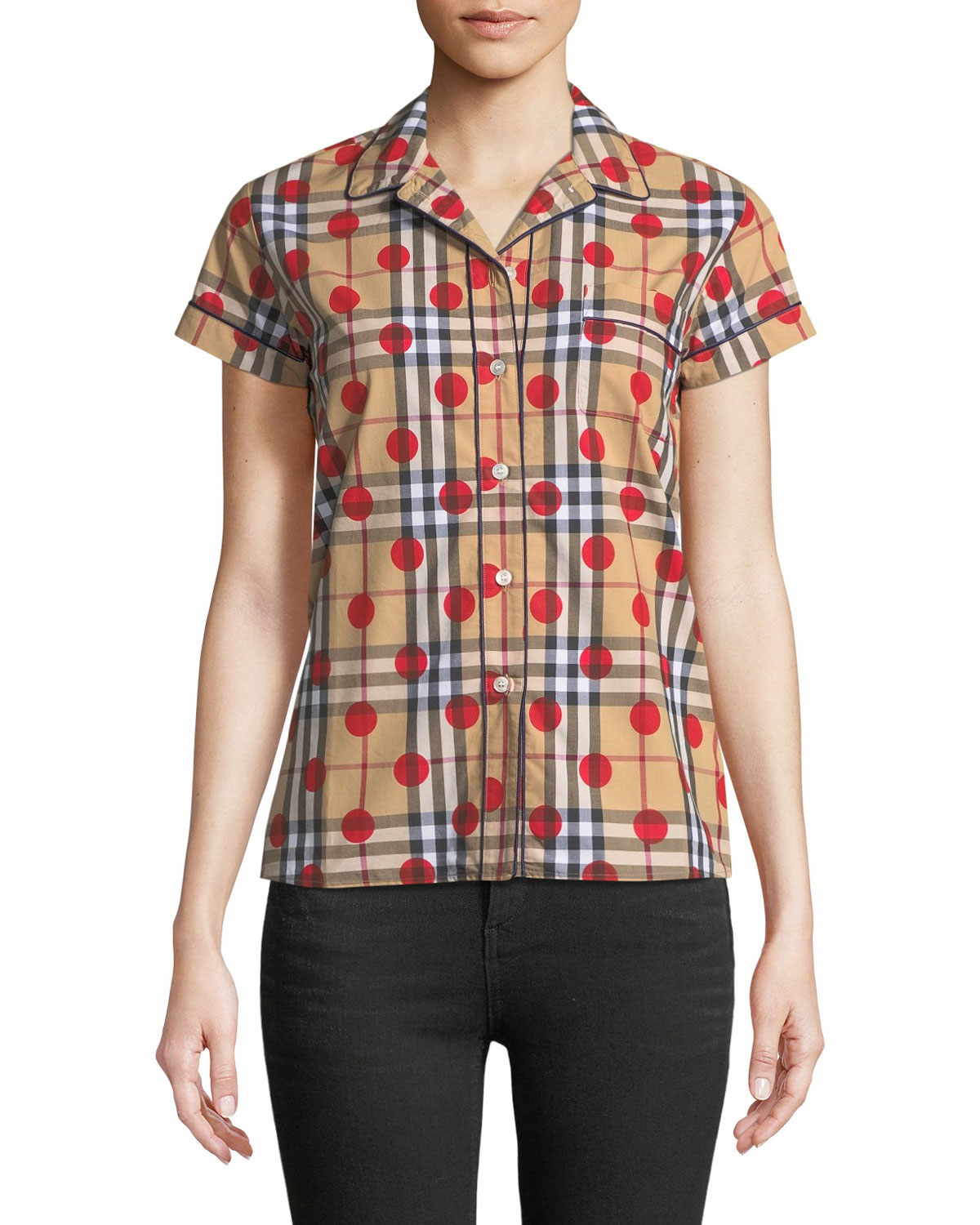 Vireo Dot-Check Shirt