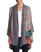 Romishka Silk Kimono Jacket