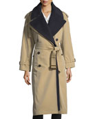 Eastheath Double-Breasted Trench Coat