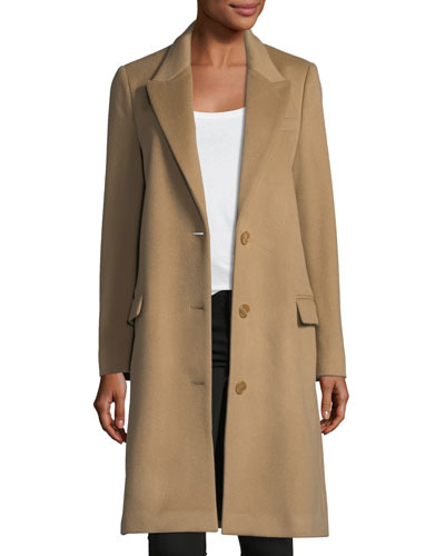 Fellhurst Wool-Blend Coat