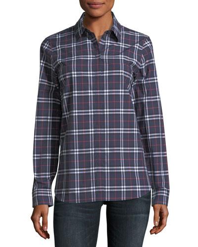 Check Long-Sleeve Shirt