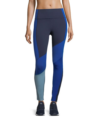 Mirror BreatheLux Asymmetric High-Rise Performance Leggings