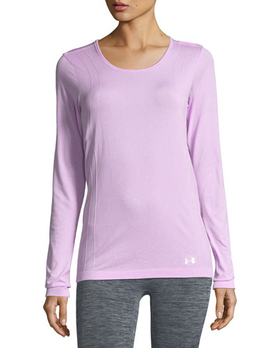 Scoop-Neck Seamless Performance Top