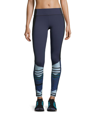Mirror Printed Performance Leggings
