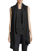 Satisfaction Draped Performance Vest
