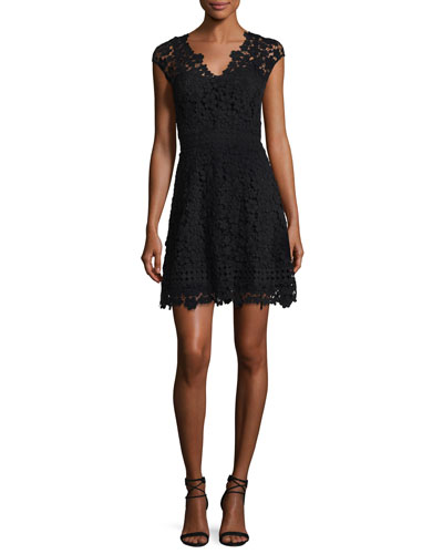 Buchanan Lace V-Neck Mini Dress