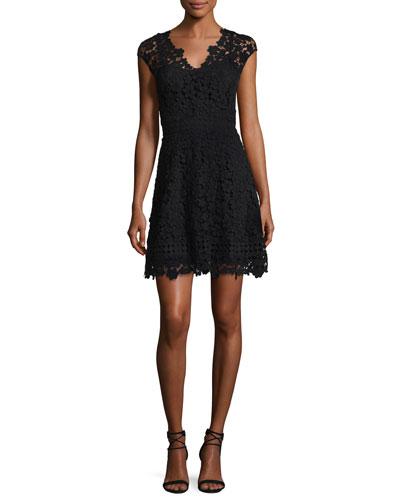 Buchanan Lace V-Neck Mini Dress