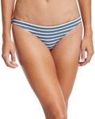 Luciana Full-Coverage Striped Swim Bottoms