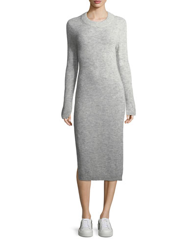 Monroe Fitted Midi Sweaterdress
