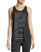 Spring Shot Racerback Cotton Jersey Performance Tank