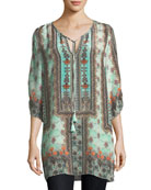 Kimberly Long Printed Tunic