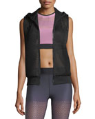 Flux Zip-Front Honeycomb Mesh Vest