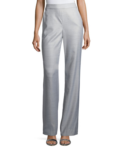 Suiting Tailored Boot-Cut Pants