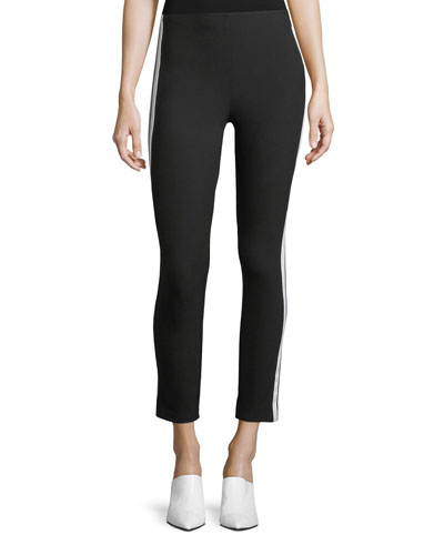 Simone Side-Stripe Skinny Pants