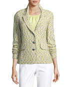 Romee Tweed Knit Jacket