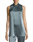 Liquid Satin Sleeveless Top
