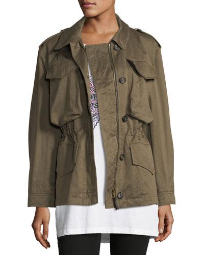 Portwell Four-Pocket Military Jacket