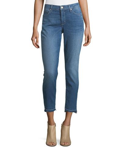 Ami Released-Hem Crop Jeans