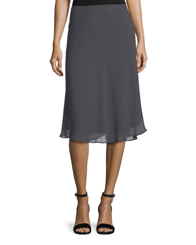 Paired Up Twirl Pull-On Skirt, Petite