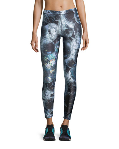 Disco Fever Performance Leggings