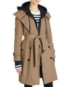 Amberford Packaway Rain Trench Coat