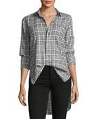 Grayson Long-Sleeve Plaid Button-Down Shirt