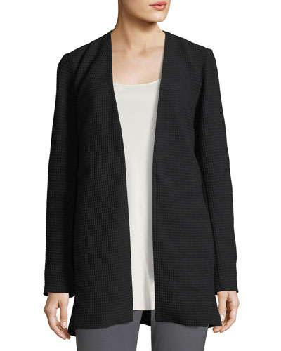 Geometry Textured Jacket