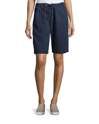 Denim Walking Shorts