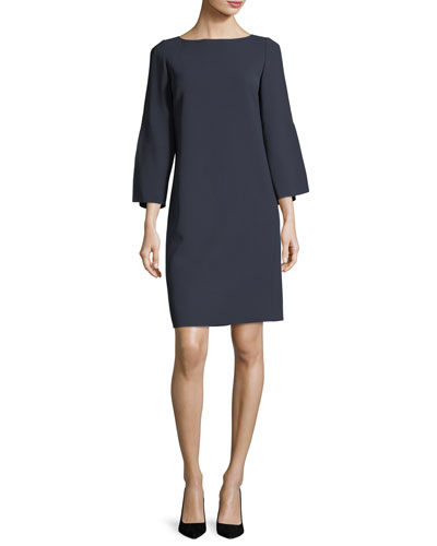 Candace Finesse-Crepe Dress, Plus Size