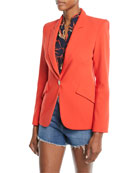 The Chamberlain One-Button Blazer