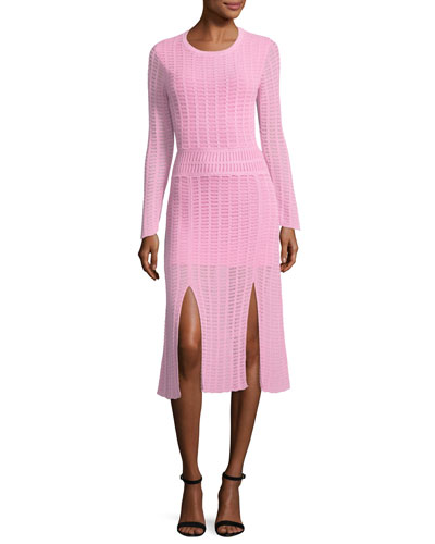Mineras Crewneck Knit Dress