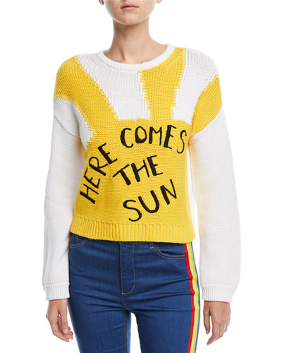 Leena Here Comes the Sun Knit Sweater