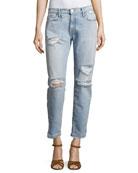 The Fling Distressed Denim Jeans