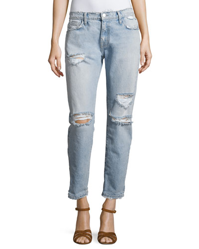 The Fling Distressed Denim Jeans