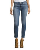 Nico Mid-Rise Super Skinny-Leg Ankle Jeans