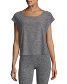 Cut and Run Boxy Athletic Tee