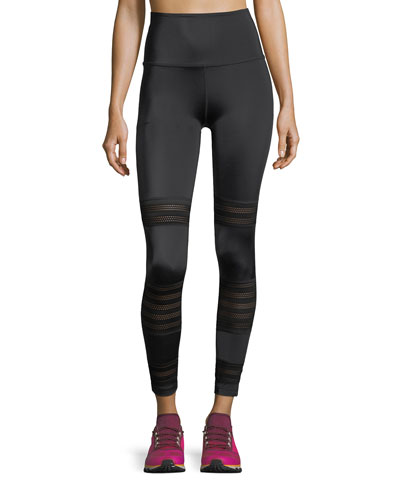 Mesh to Impress High-Waist Midi Legging