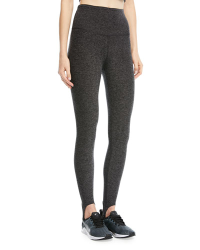 High-Waist Riding Stirrup Leggings