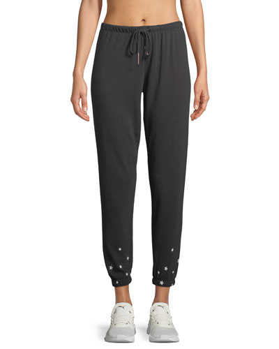 Mini-Stars Ankle Sweatpants