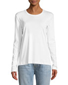 Crewneck Long-Sleeve T-Shirt