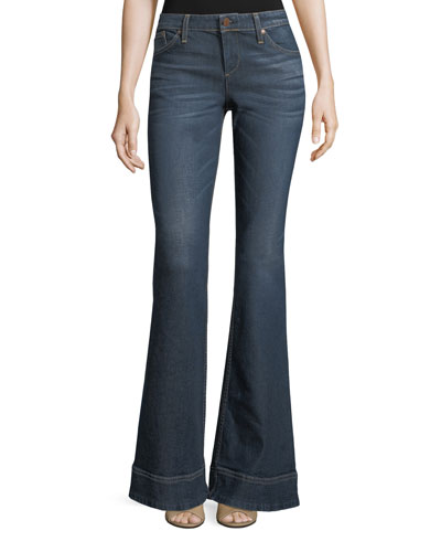 Beautiful Low-Rise Bellbottom Jeans