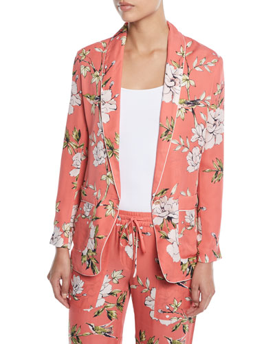 Quick Look. Joie · Anasophia Floral-Print Silk Jacket