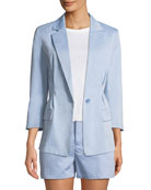 Lian Pleated Blazer