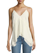 Hambro V-Neck Camisole with Lace