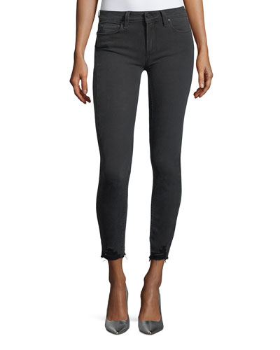 Verdugo Mid-Rise Skinny-Leg Ankle Jeans
