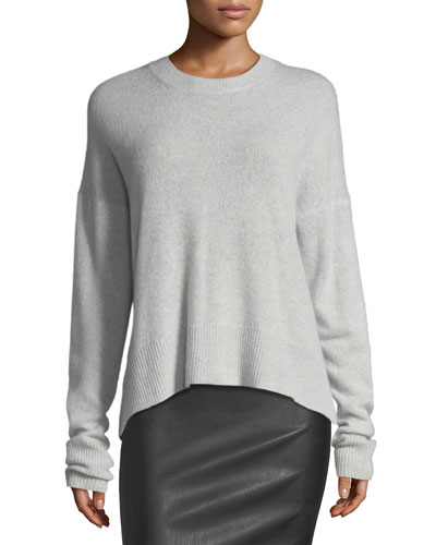 Karena L. Long-Sleeve Cashmere Sweater