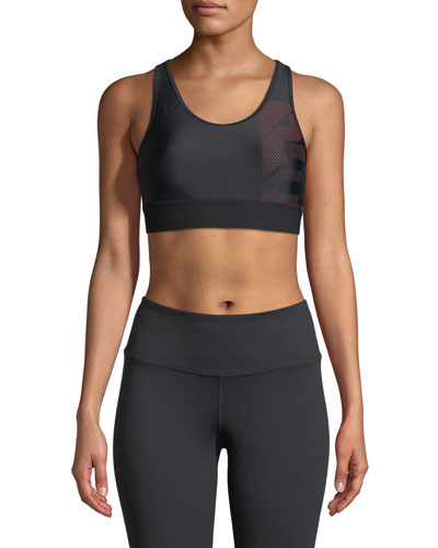 PE Nation The Countdown Racerback Performance Sports Bra