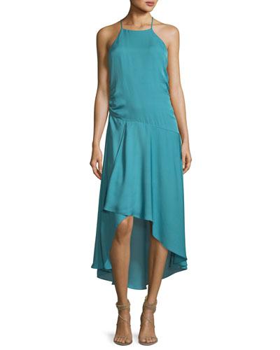 fa2c635efde21 Quick Look. Haute Hippie · The Marina Halter Sleeveless Silk Dress