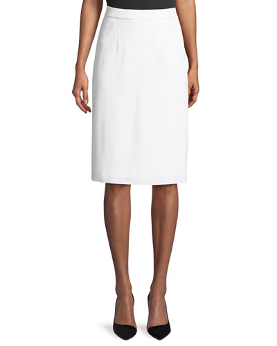 688733cd32 Quick Look. Misook · Lined Straight Pull-On Skirt