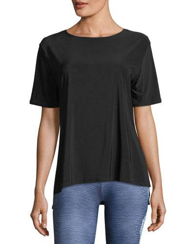 Short-Sleeve Boxy Performance Top